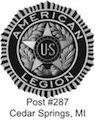 American Legion Cedar Springs